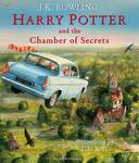 Livro - HARRY POTTER ILLUSTRATED - THE CHAMBER OF SECRETS