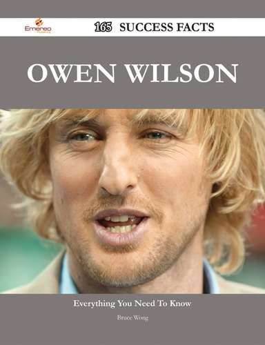 owen wilson 165 success facts - everything you