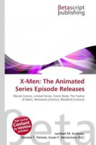 x-men: the animated series episode releases