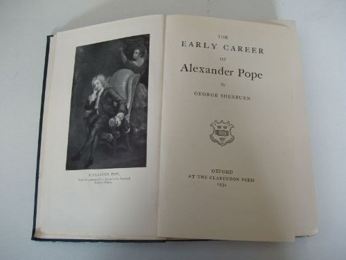early-career-of-alexander-pope
