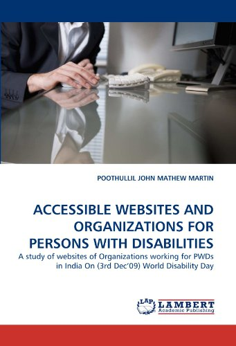 accessible websites and organizations for persons