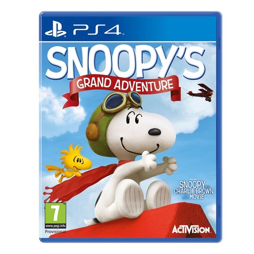 peanuts movie, the (ps4)