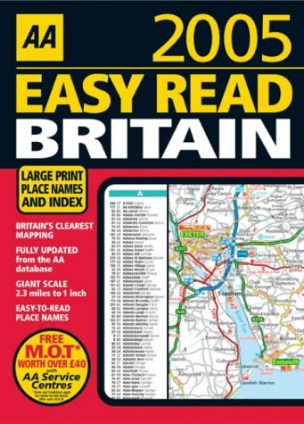 aa-easy-read-atlas-britain-2005