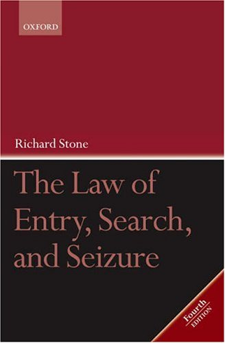 law-of-entry-search-seizure-the