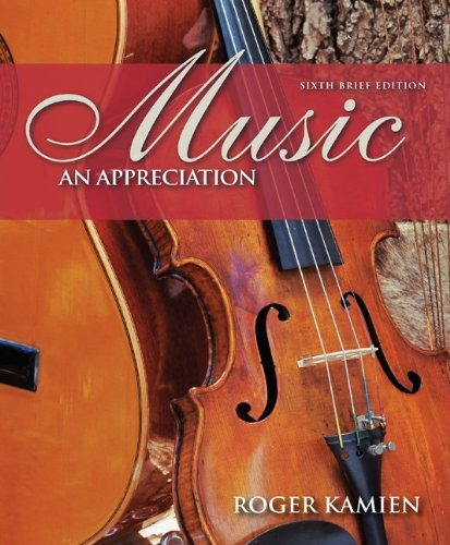 music- an appreciation + digital music cd