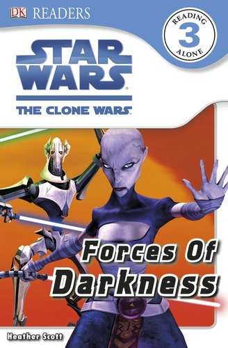 dk readers l3: star wars: the clone wars: forces