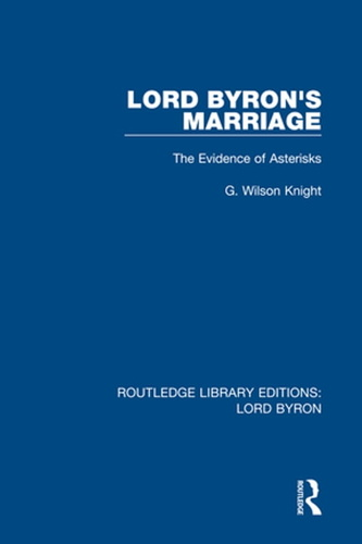 lord byron's marriage