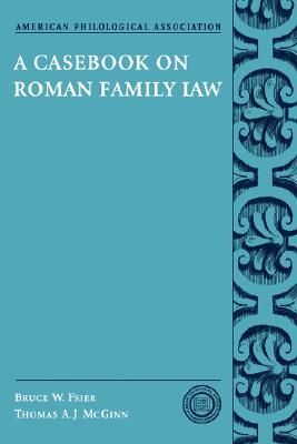 casebook-on-roman-family-law-a