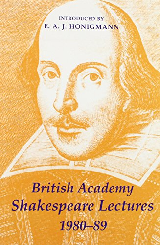 british-academy-shakespeare-lectures-1980-1989