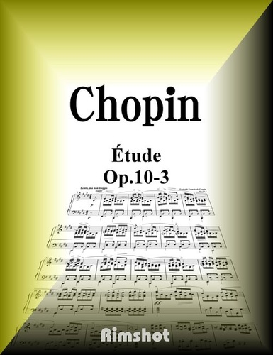 chopin etude op.10-3 for piano solo