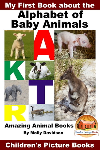my first book about the alphabet of baby