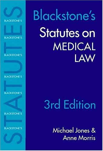 statutes-on-medical-law-2003-2004