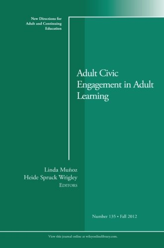 adult civic engagement in adult learning