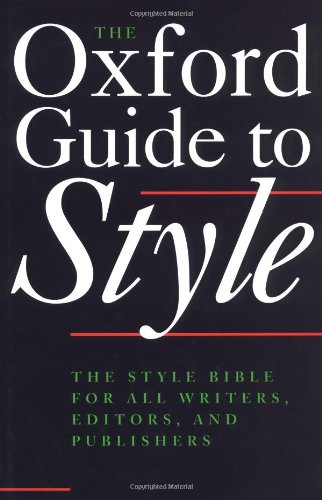 oxford-guide-to-style-the