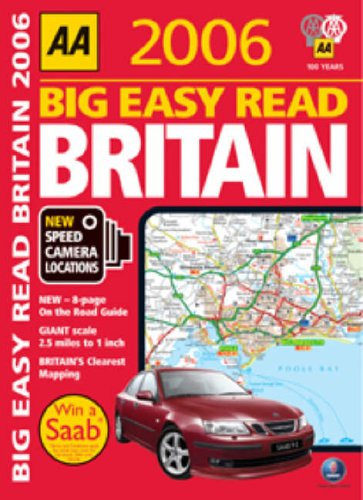 aa-big-easy-read-atlas-britain-2006