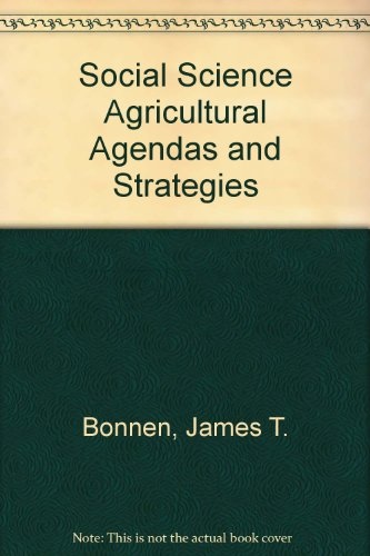 social science agricultural agendas and strategies