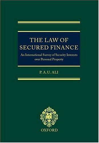 law-of-secured-finance-the