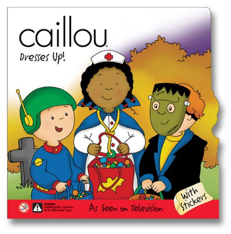 caillou-dresses-up
