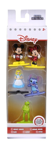 jada - metal nano - disney - pack com 5
