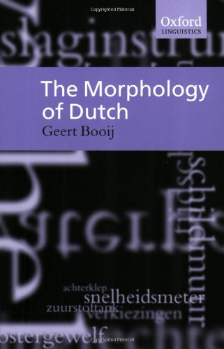 morphology-of-dutch-the