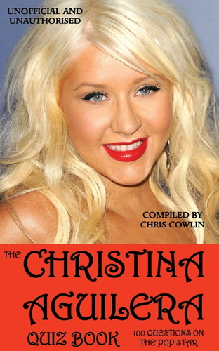 christina aguilera quiz book, the