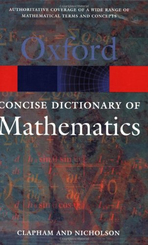 concise-oxford-dictionary-of-mathematics-the
