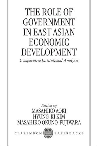 role-of-government-in-east-asian-economic-the